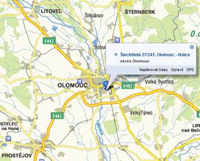 Mapa PSUP